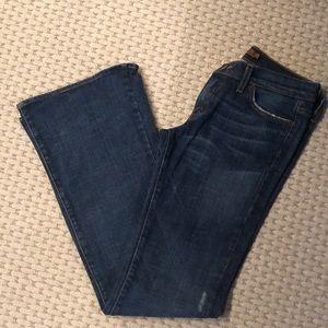 Arden B boot cut dark wash jeans